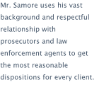 About Samore Law
