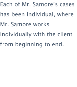 Samore Law 300 Central Avenue SW Suite 2500W Albuquerque, NM 87102-3298 office@samorelaw.com